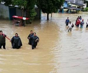 Inundaciones en Puerto Asís, Putumayo.