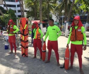 El Rodadero y la Bahía vuelven a tener salvavidas