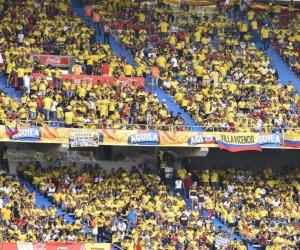 Tribunas del estadio Metropolitano.