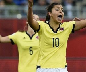 Yoreli Rincón, jugadora de la Selección Colombia.
