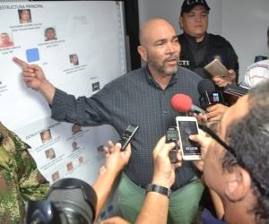 El Director de Fiscalía detalló las acciones que han venido desarrollando contra 'Los Pachencas'.