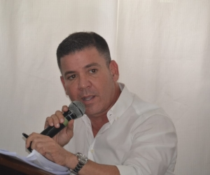 José Rodrigo Dajud, gerente de la Essmar.