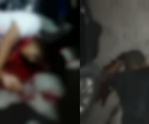 Hombres asesinados en El Pando.