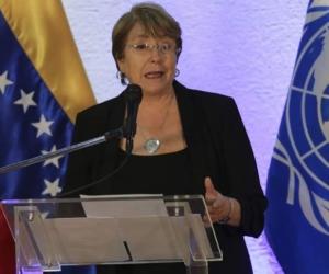 Michelle Bachelet, alta Comisionada de Naciones Unidas para los Derechos Humanos.