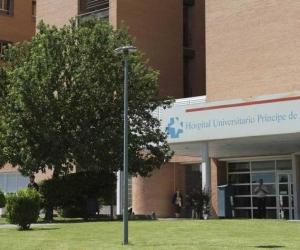 Clínica del hospital de Alcalá de Henares.