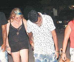 Estas fueron las 4 personas capturadas anoche (viernes).