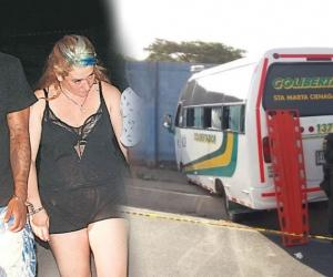 Dos de los capturados el pasado viernes fueron las víctimas del bus este domingo.