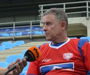 Pedro Sarmiento, director técnico del Unión.