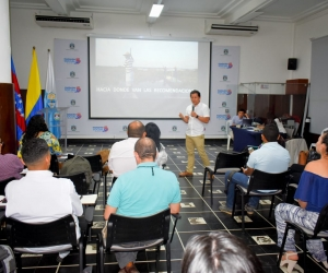 El encuentro tuvo lugar en el Salón Bolívar del Palacio Tayrona.