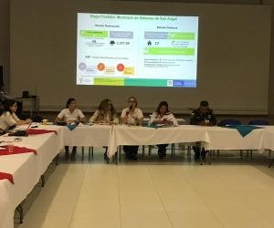 El comité se desarrolló en la subregión centro del departamento en el municipio de Plato.