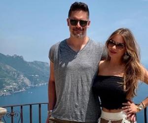 Sofía Vergara al lado de su esposo, Joe Manganiello, en Italia.