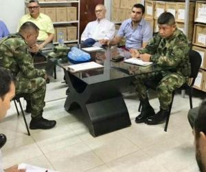 Consejo de Seguridad en San José de Uré.