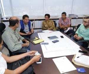 Las mesas técnicas son lideradas por el gerente de Infraestructura, Armando Parrales.