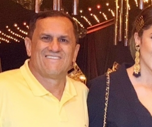Hernán Ospina y su hija Daniela.