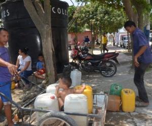 La aprobación de vigencias futuras se hizo para la solución al desabastecimiento de agua en Santa Marta.