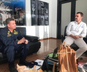 Uno de los primeros retos que tendrá el nuevo Comandante será el acompañamiento en el desarrollo de las Fiestas del Mar 2019.