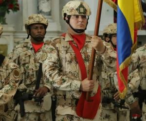 Fuerzas militares de Colombia.