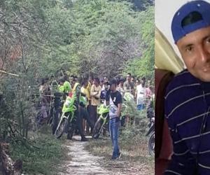Roberto Mario Fontalvo Silvera fue hallado muerto en esta trocha de Palmar de Varela.