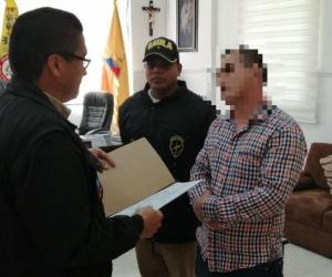 Imagen de archivo de una captura por corrupción en el Ejército.