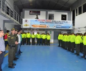 El alcalde Rafael Martínez dijo que apoyará a la Policía para que den más resultados.