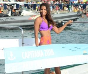 La Capitana Nacional del Mar 2018, Kelly Puerta.