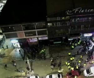 Gigantesco operativo de la Policía