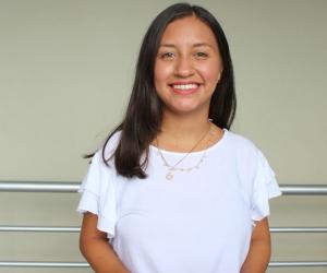 Emily Briceño, estudiante de Comunicación Social y Periodismo de la Universidad Sergio Arboleda sede Santa Marta.