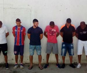 Capturados por, presuntamente, pertenecer a 'Los Cartagena'.