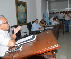 El secretario de Gobierno, Adolfo Bula.