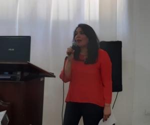 Cindy Zawady, secretaria de Cultura.