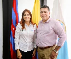 Gobernación del Magdalena e Infotep aúnan esfuerzos para llevar oferta educativa a los municipios del Departamento.