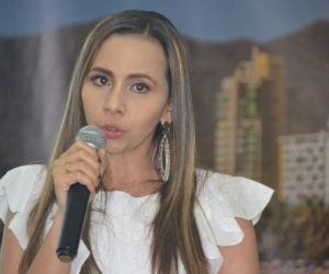 Linda Cabarcas, secretaria de Salud Distrital.
