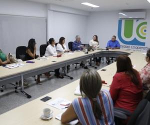 Reunión en la UCC