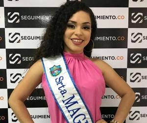 Anyela Sabrina Ballesteros Toro, señorita Magdalena al Imperialato de la Cumbia.