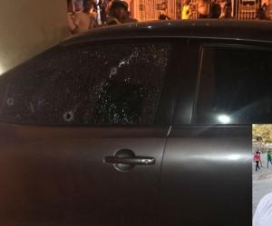 Clayton Lucas Romero fue baleado el 18 de julio.