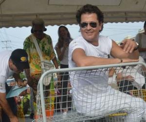Carlos Vives en Pescaíto
