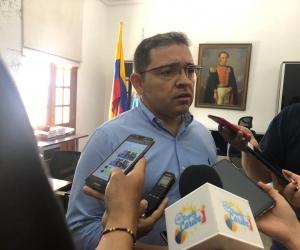 Rafael Martínez en su despacho.