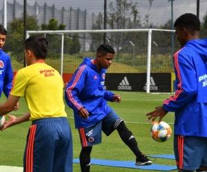 Jugadores de la Selección Colombia sub-15.