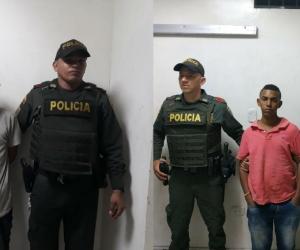 De izquiera a derecha: José Polo Mandon y Luis Ruiz Márquez