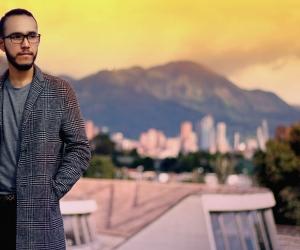 El escritor samario David Escobar de Lavalle