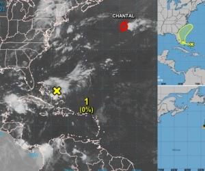 Hasta el momento se han formado dos tormentas en la temporada ciclónica atlántica.