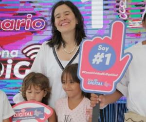 """Es el primer corregimiento de Ciénaga beneficiado de """"la gran ola de la conectividad de Colombia""""."""