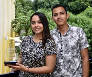 Mariana Martínez Jiménez y Juan José Fuentes Fernández.