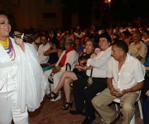Ana Cecilia Alamanza, presidenta de la Fundación que realiza este concierto en Santa Marta.