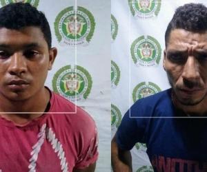 Yefryth Yamith Márquez Iglesias y Hafe David Cantillo Morales.