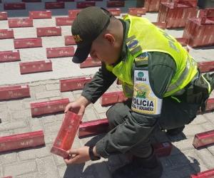 Incautación de mercancía de contrabando