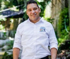 Hadder Jimenez, candidato al concejo