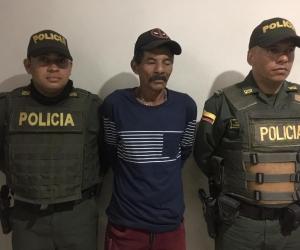 Él es Jairo Guarnizo Cabrera, el anciano capturado.