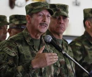 El comandante del Ejército, general Nicacio Martínez.