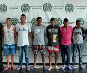 Seis integrantes de 'Los Zeus' capturados.